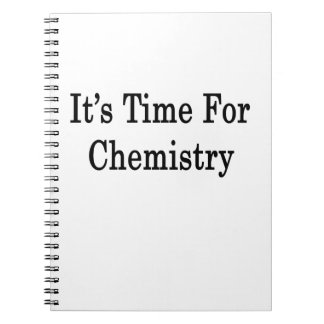 It's Time For Chemistry Notebooks