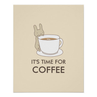 It's time for Coffee Kitchen Posters