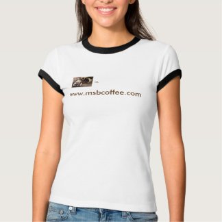 It's Time For Coffee=Women's Bella Ringer T-Shirt