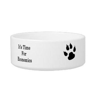 It's Time For Economics Pet Food Bowls
