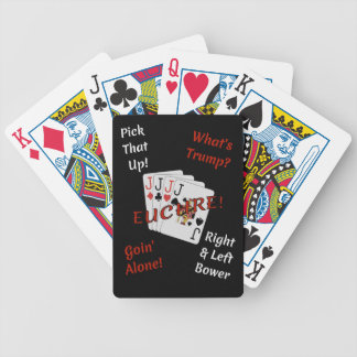 It's Time For Euchre! Bicycle Playing Cards