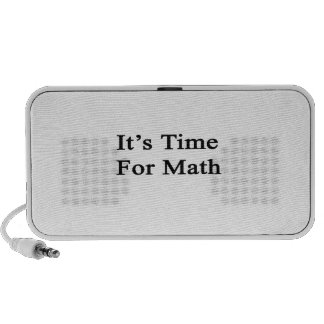 It's Time For Math Speaker