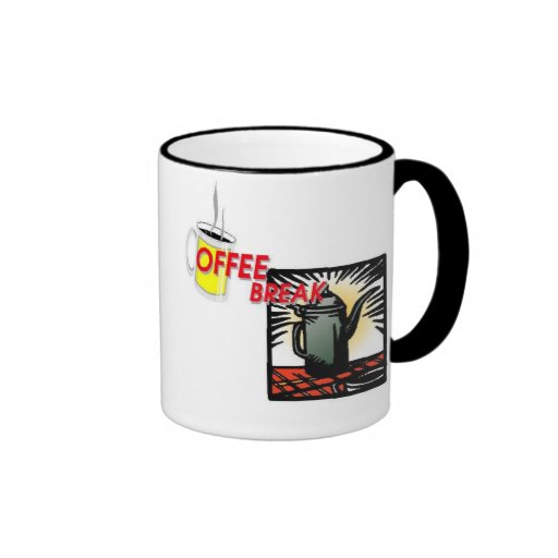 It's Time for My Coffee Break! Mugs