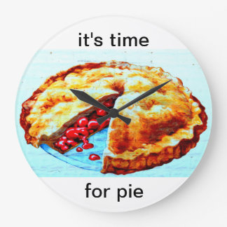 it's time for pie clock