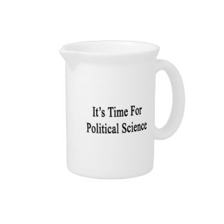 It's Time For Political Science Pitcher