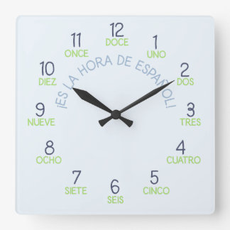 It's Time for Spanish Clock