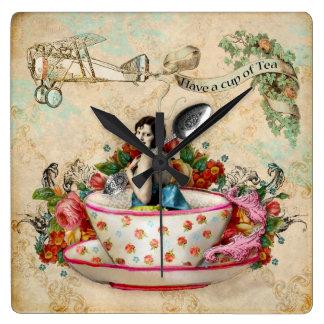 It's time for tea clocks