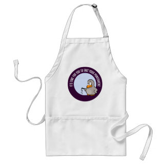 It's time for you to be punished adult apron