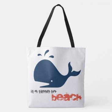 Beach Themed Its time to Beach Tote Bag
