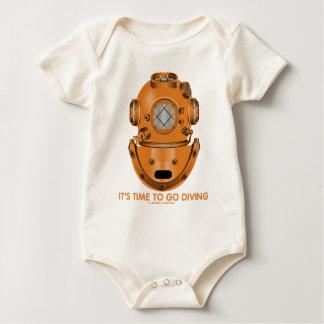 It's Time To Go Diving (Deep Sea Diving Helmet) Baby Bodysuit