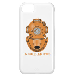 It's Time To Go Diving (Deep Sea Diving Helmet) Cover For iPhone 5C