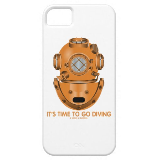 It's Time To Go Diving (Deep Sea Diving Helmet) iPhone 5 Case