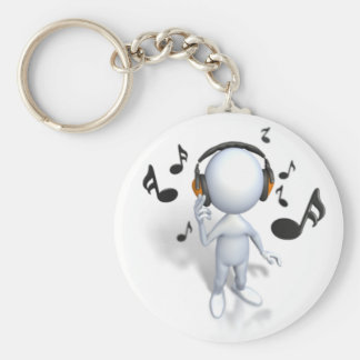 It's Time to Jam Keychain