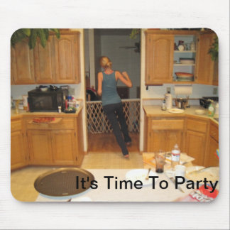It's Time To Party Mouse Pad