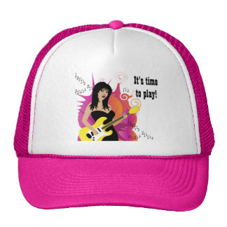It's time to play! hat