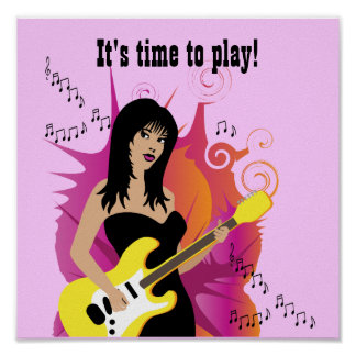 It's time to play! poster