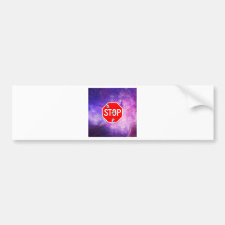 its time to stop filthy frank stop sign galaxy bumper sticker