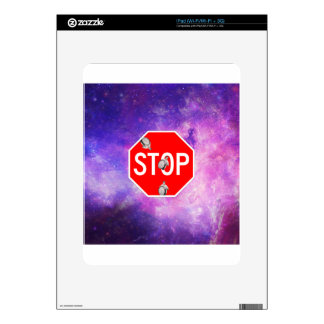 its time to stop filthy frank stop sign galaxy iPad skin