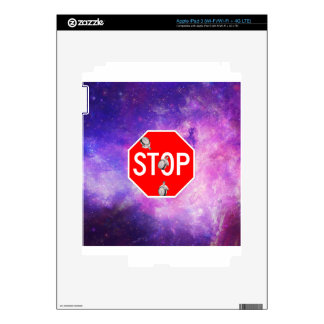 its time to stop filthy frank stop sign galaxy skins for iPad 3