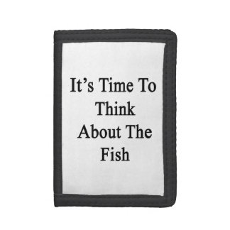 It's Time To Think About The Fish Tri-fold Wallet