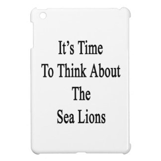 It's Time to Think About The Sea Lions Case For The iPad Mini