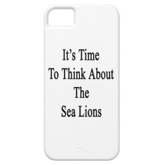 It's Time to Think About The Sea Lions iPhone SE/5/5s Case