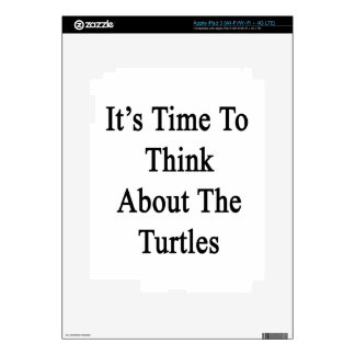 It's Time To Think About The Turtles Skin For iPad 3