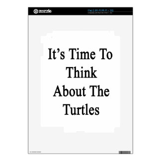 It's Time To Think About The Turtles Skins For iPad 2