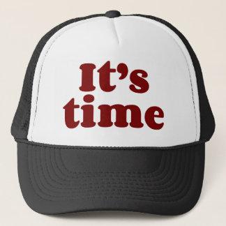 It's Time Trucker Hat