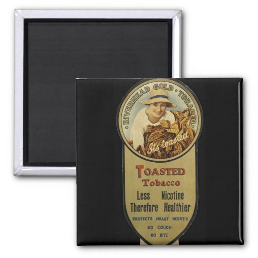 It's Toasted! 2 Inch Square Magnet