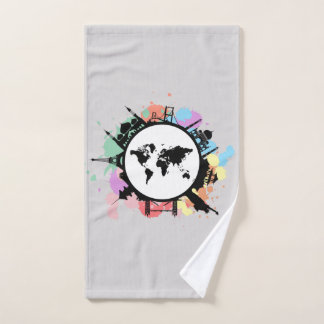 It's travel time bath towel set