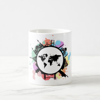 It's travel time classic white coffee mug