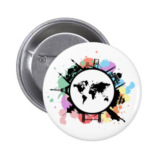 It's travel time pinback button