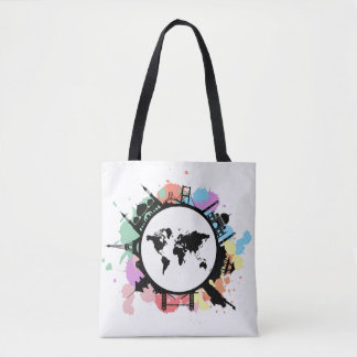 It's travel time tote bag