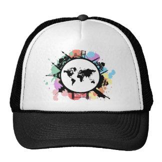 It's travel time trucker hat