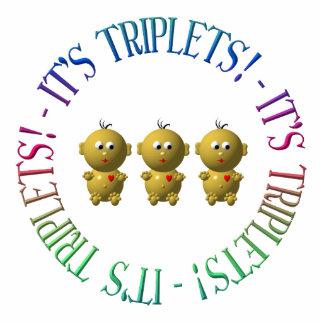 It's triplets! cutout