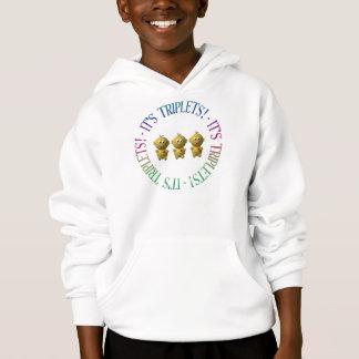 It's triplets! hoodie