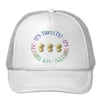 It's triplets! trucker hat