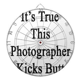 It's True This Photographer Kicks Butt Dartboard