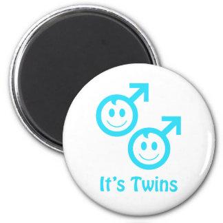 It's twin boys magnet