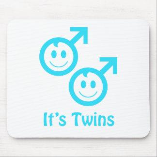 It's twin boys mousepads