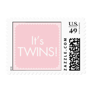 It's Twin Girls Postage