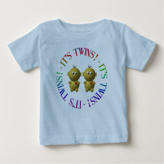 It's twins! baby T-Shirt
