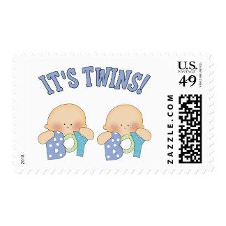 ITS TWINS (Boy Boy) Stamps