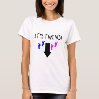 Its Twins Boy Girl T-Shirt