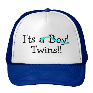 Its Twins (Boys) Trucker Hat