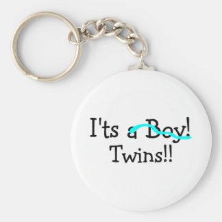 Its Twins (Boys) Keychain