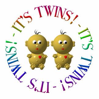 It's twins! cutout