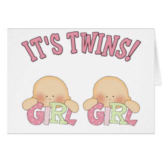 It's Twins! (GIRL GIRL) Card