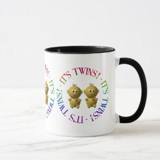 It's twins! mug